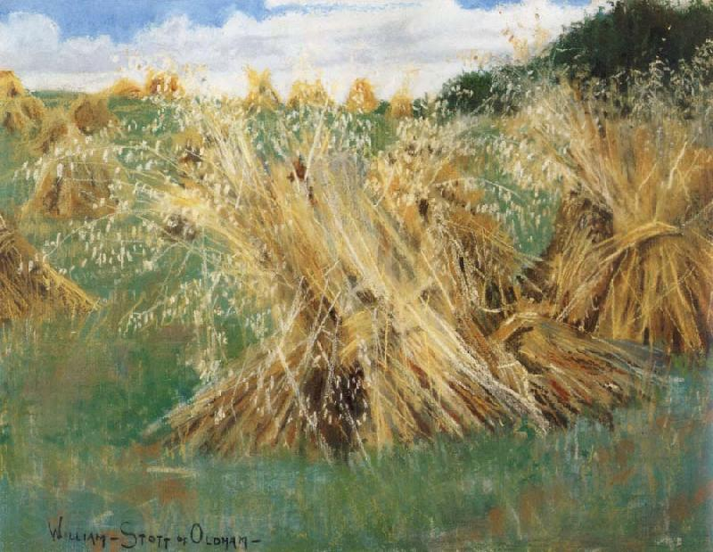 William Stott of Oldham The Cornfield